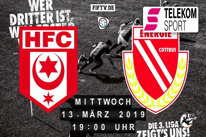 Hallescher FC - Energie Cottbus Spielankündigung