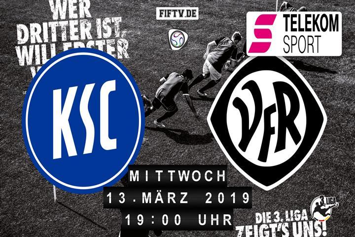 Karlsruher SC - VfR Aalen Spielankündigung