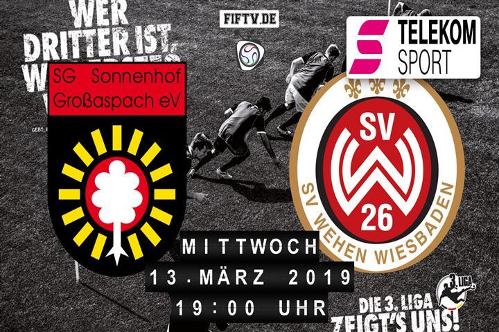 Sonnenhof Großaspach - SV Wehen Wiesbaden Spielankündigung