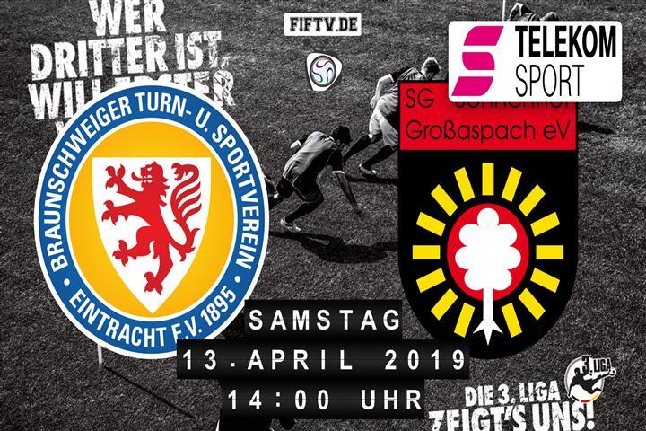 Eintracht Braunschweig - Sonnenhof Großaspach Spielankündigung