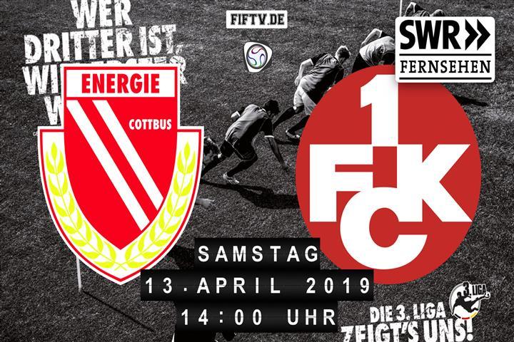 Energie Cottbus - 1.FC Kaiserslautern Spielankündigung