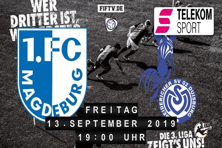 1.FC Magdeburg - MSV Duisburg Spielankündigung