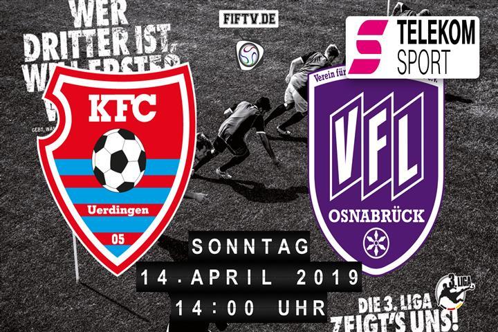 KFC Uerdingen 05 - VfL Osnabrück Spielankündigung