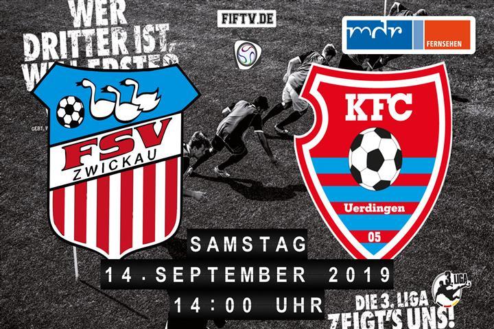 FSV Zwickau - KFC Uerdingen 05 Spielankündigung
