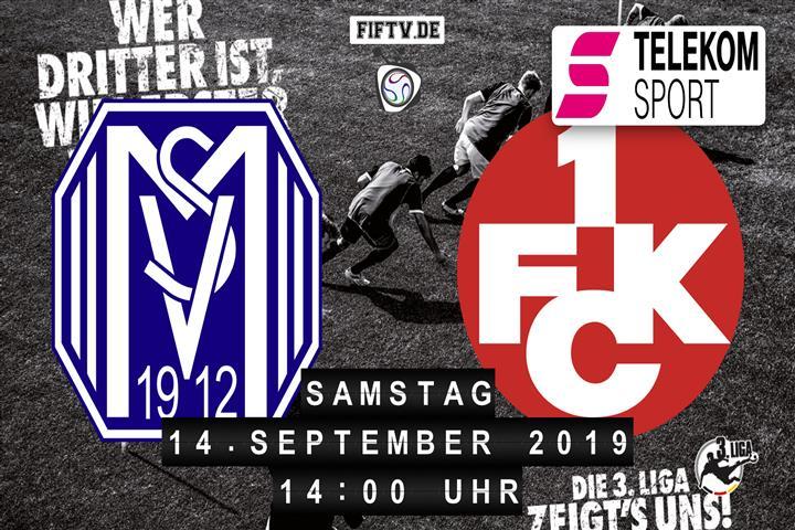 SV Meppen - 1.FC Kaiserslautern Spielankündigung