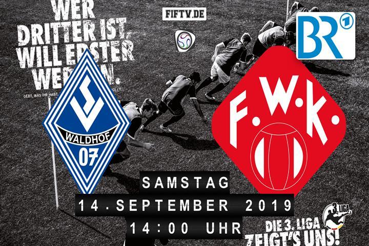 SV Waldhof Mannheim - Würzburger Kickers Spielankündigung