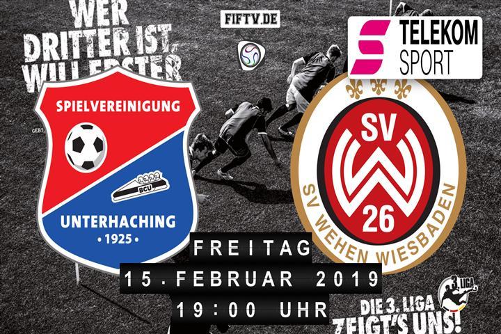 SpVgg Unterhaching - SV Wehen Wiesbaden Spielankündigung