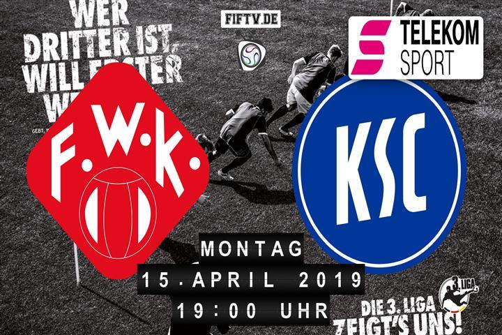 Würzburger Kickers - Karlsruher SC Spielankündigung