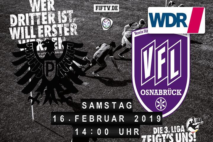 Preussen Münster - VfL Osnabrück Spielankündigung