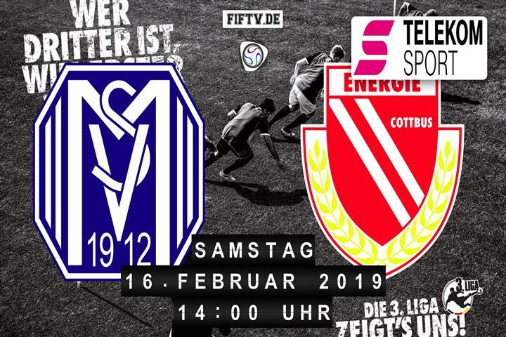 SV Meppen - Energie Cottbus Spielankündigung