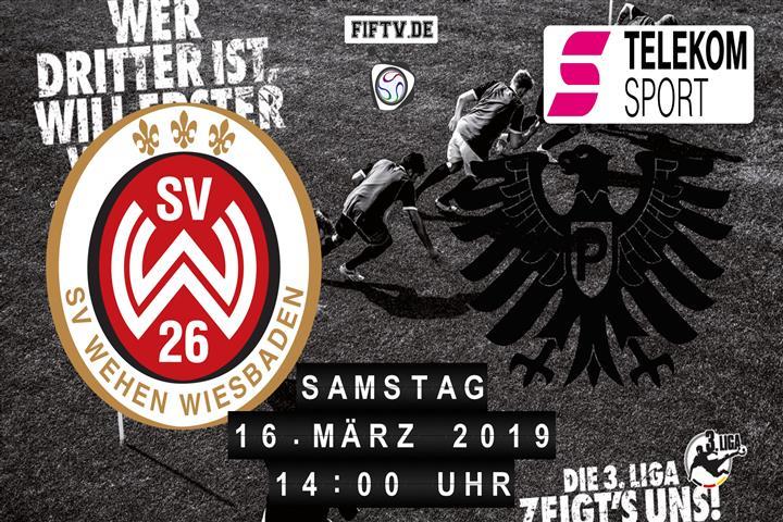 SV Wehen Wiesbaden - Preussen Münster Spielankündigung