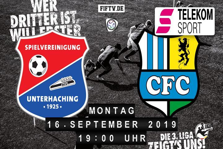 SpVgg Unterhaching - Chemnitzer FC Spielankündigung