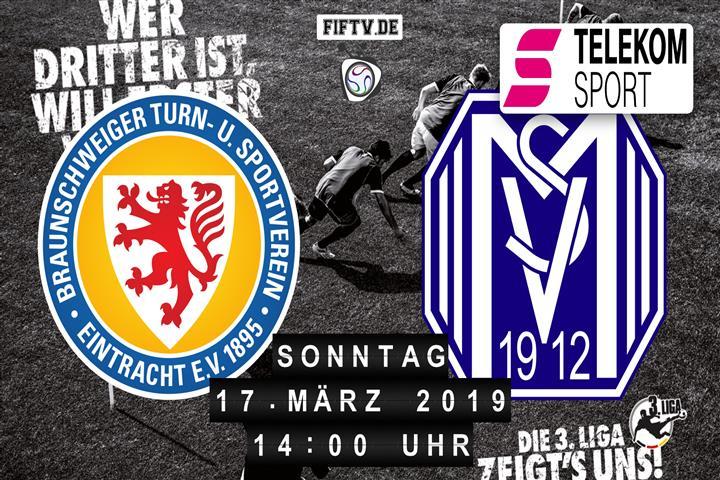 Eintracht Braunschweig - SV Meppen Spielankündigung