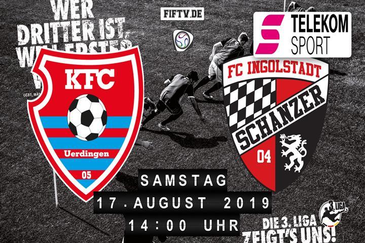 KFC Uerdingen 05 - FC Ingolstadt Spielankündigung