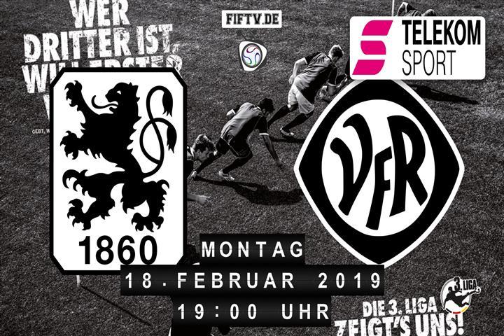 TSV 1860 München - VfR Aalen Spielankündigung