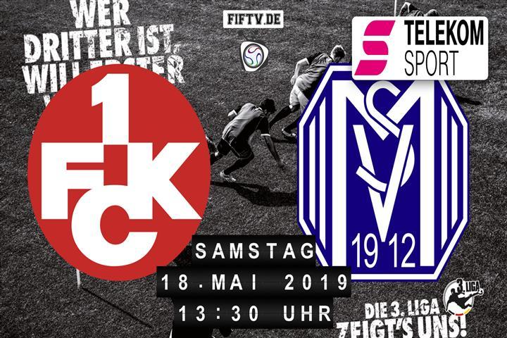 1.FC Kaiserslautern - SV Meppen Spielankündigung