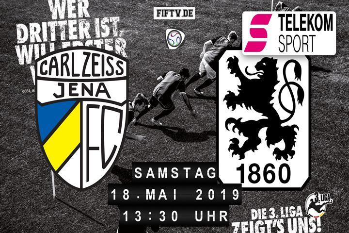 Carl Zeiss Jena - TSV 1860 München Spielankündigung