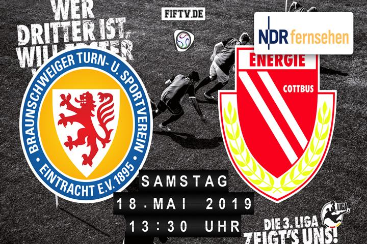 Eintracht Braunschweig - Energie Cottbus Spielankündigung