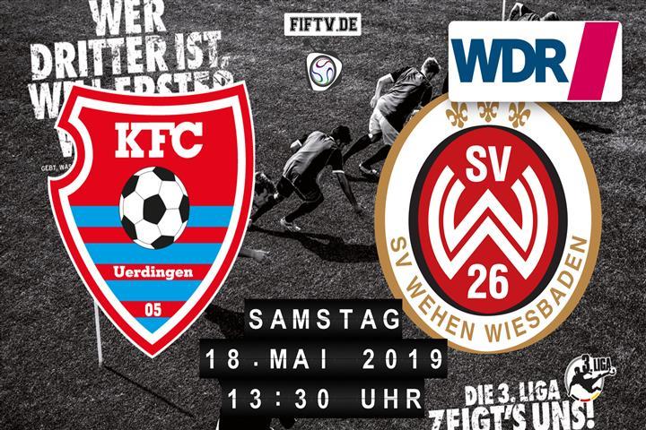 KFC Uerdingen 05 - SV Wehen Wiesbaden Spielankündigung