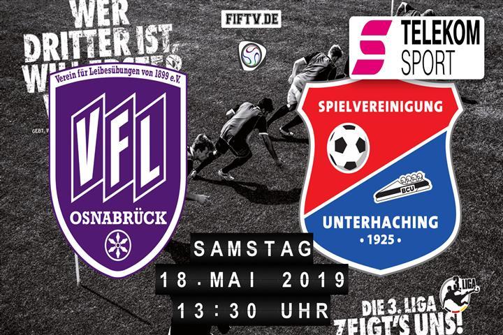 VfL Osnabrück - SpVgg Unterhaching Spielankündigung