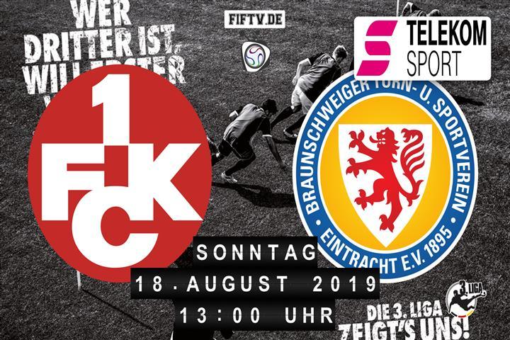 1.FC Kaiserslautern - Eintracht Braunschweig Spielankündigung