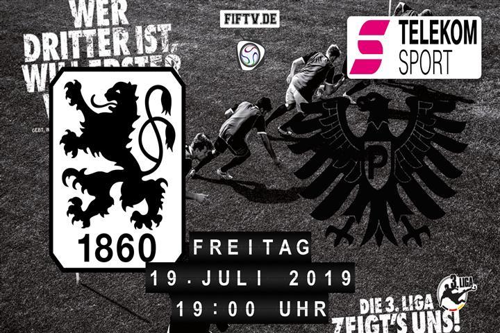 TSV 1860 München - Preussen Münster Spielankündigung