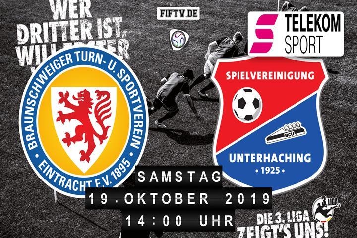 Eintracht Braunschweig - SpVgg Unterhaching Spielankündigung