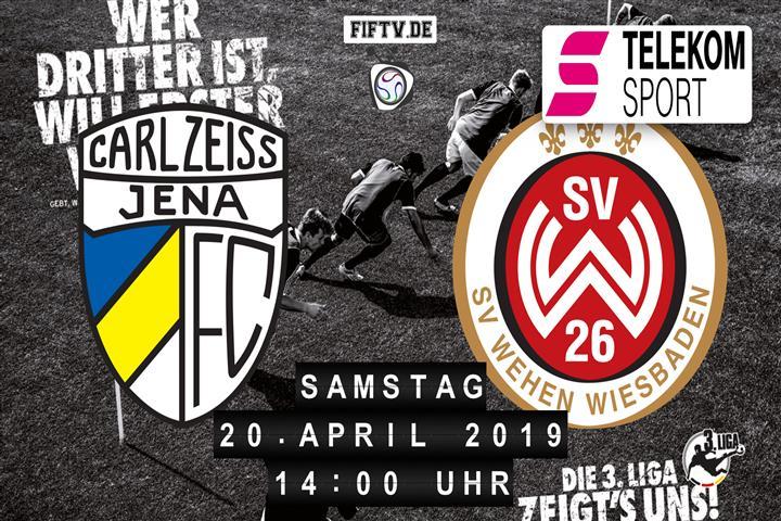 Carl Zeiss Jena - SV Wehen Wiesbaden Spielankündigung