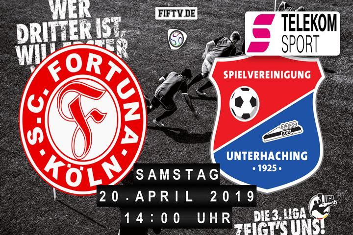 Fortuna Köln - SpVgg Unterhaching Spielankündigung