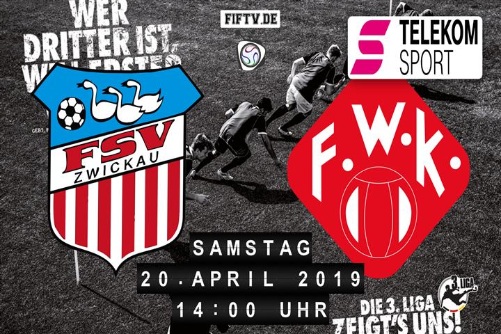 FSV Zwickau - Würzburger Kickers Spielankündigung
