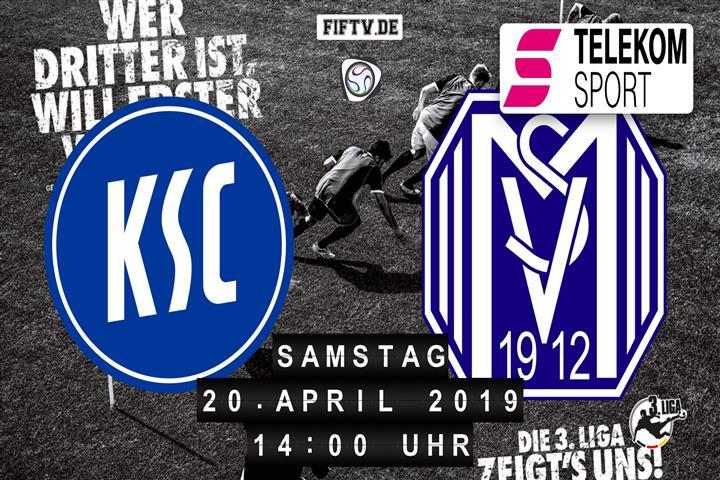Karlsruher SC - SV Meppen Spielankündigung