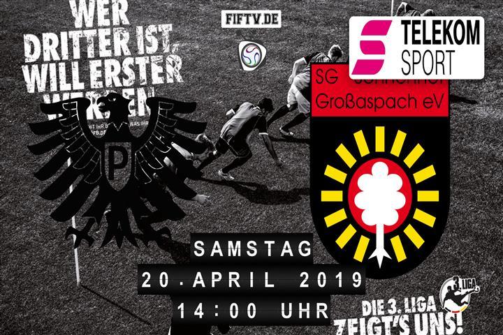 Preussen Münster - Sonnenhof Großaspach Spielankündigung