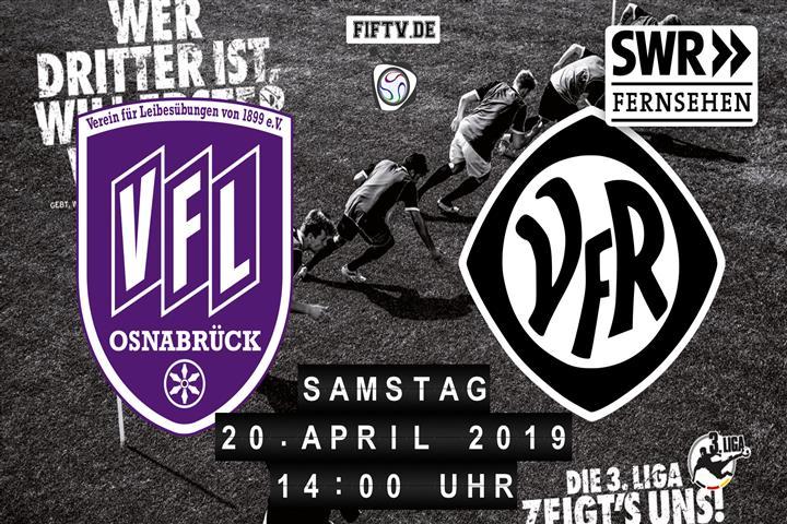 VfL Osnabrück - VfR Aalen Spielankündigung