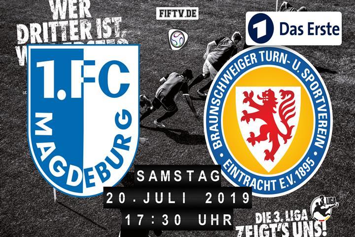 1.FC Magdeburg - Eintracht Braunschweig Spielankündigung