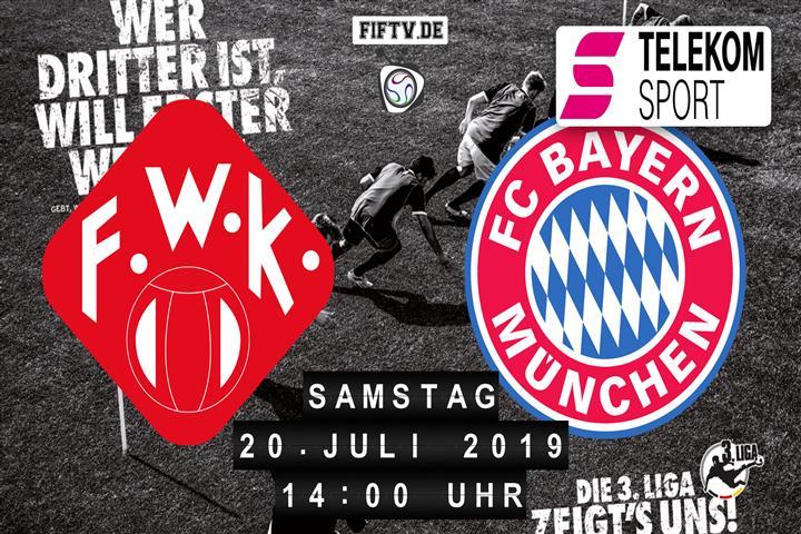 Würzburger Kickers - Bayern München II Spielankündigung