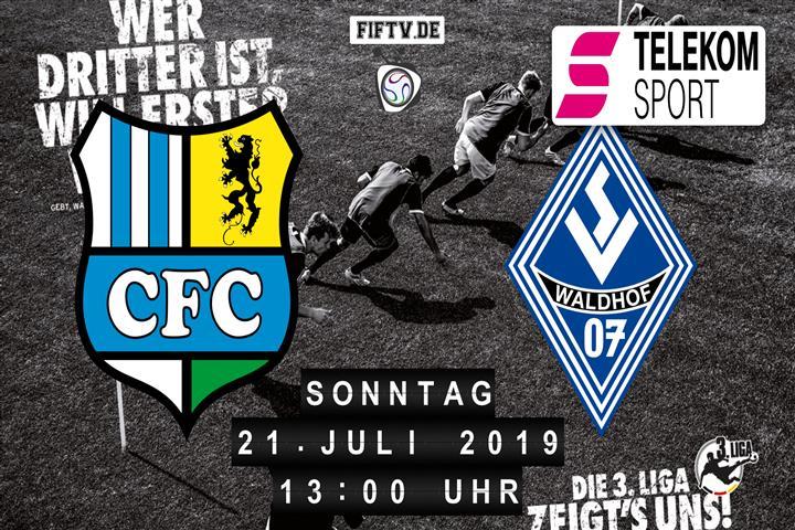 Chemnitzer FC - SV Waldhof Mannheim Spielankündigung