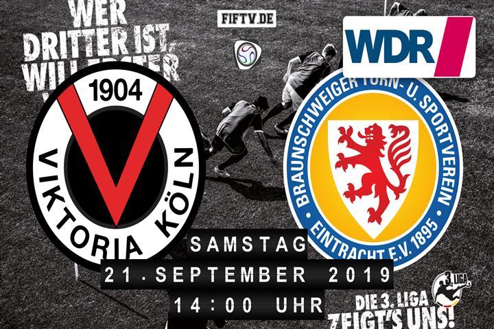 Viktoria Köln - Eintracht Braunschweig Spielankündigung