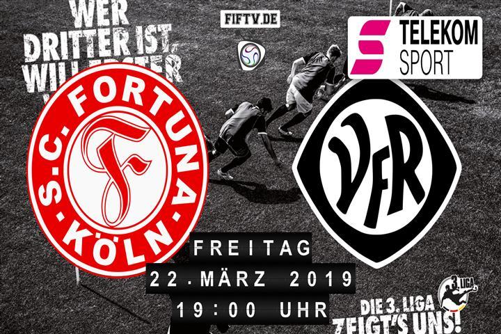 Fortuna Köln - VfR Aalen Spielankündigung