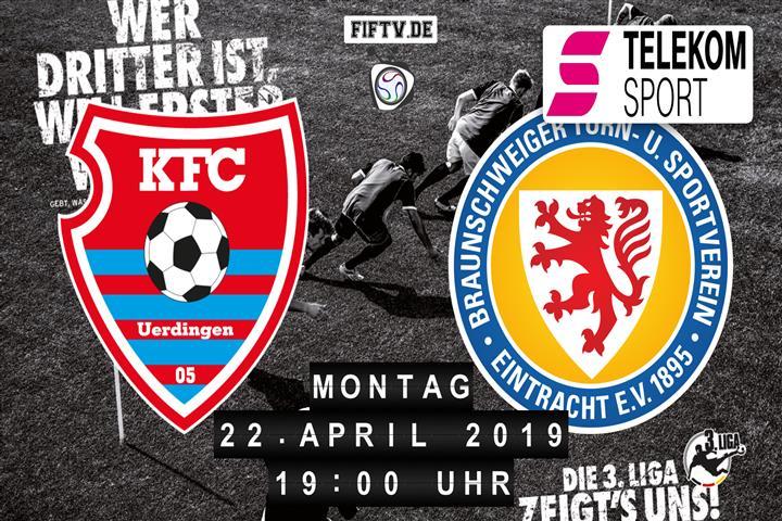 KFC Uerdingen 05 - Eintracht Braunschweig Spielankündigung