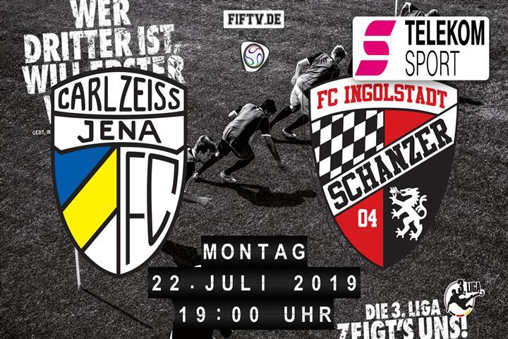 Carl Zeiss Jena - FC Ingolstadt Spielankündigung