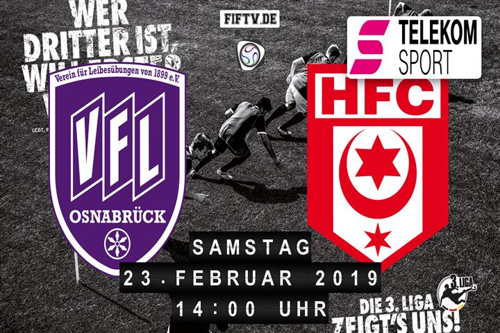 VfL Osnabrück - Hallescher FC Spielankündigung