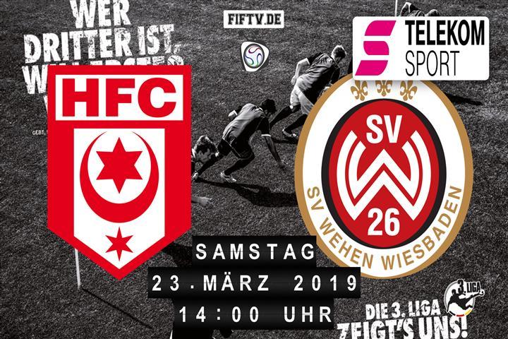 Hallescher FC - SV Wehen Wiesbaden Spielankündigung