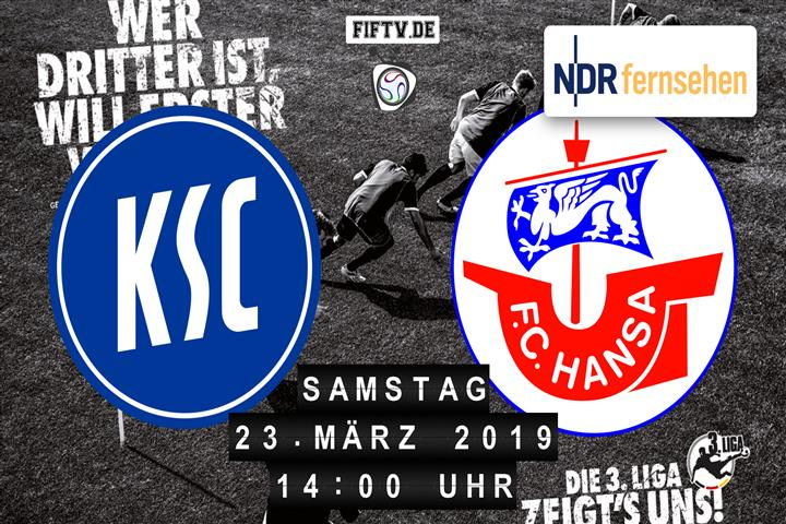 Karlsruher SC - Hansa Rostock Spielankündigung