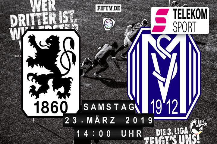 TSV 1860 München - SV Meppen Spielankündigung