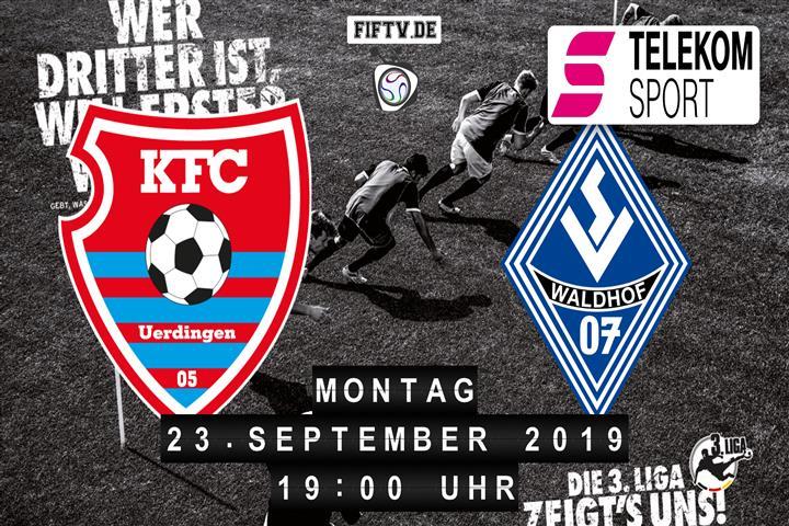 KFC Uerdingen 05 - SV Waldhof Mannheim Spielankündigung