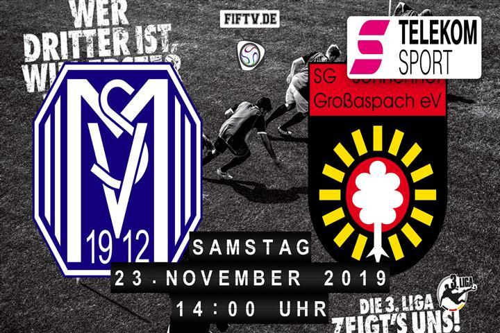 SV Meppen - Sonnenhof Großaspach Spielankündigung