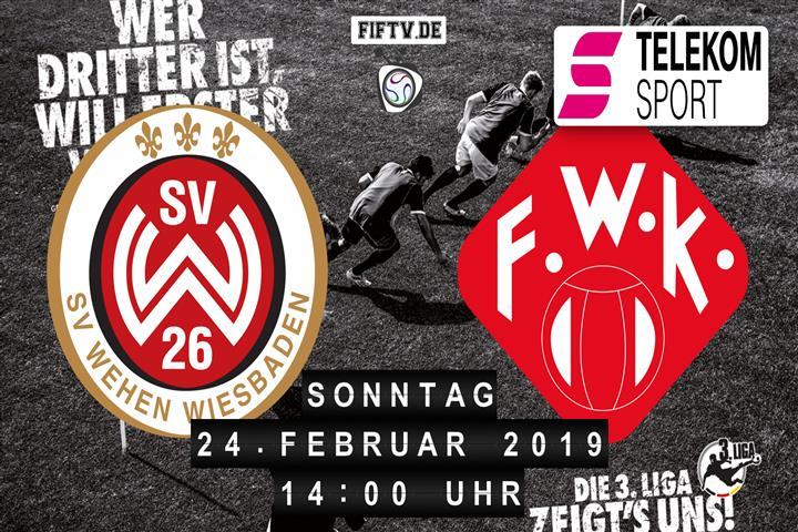 SV Wehen Wiesbaden - Würzburger Kickers Spielankündigung
