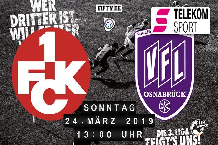 1.FC Kaiserslautern - VfL Osnabrück Spielankündigung