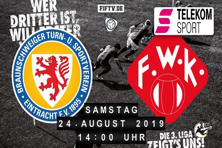 Eintracht Braunschweig - Würzburger Kickers Spielankündigung