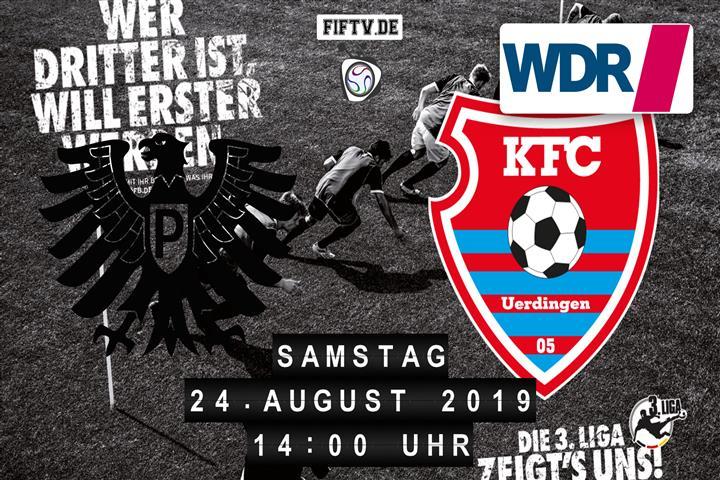 Preussen Münster - KFC Uerdingen 05 Spielankündigung